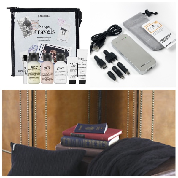 Philosophy Travel Set, Power Monkey Travel Battery & Ralph Lauren Travel Comfort Kit
